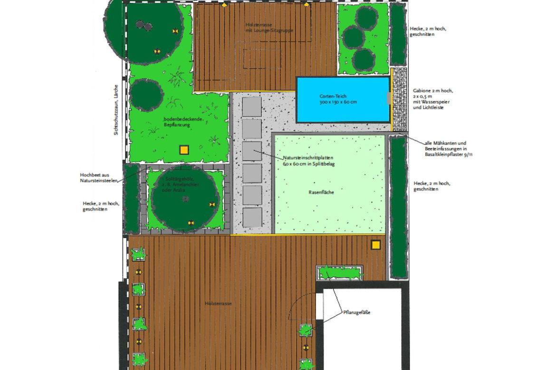 Doppelhausgarten-Oberhausen-Plan